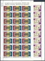 Europa CEPT: Történelmi események kisívsor Europa CEPT: Historical events mini sheet set
