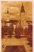 Lucenec, katolicky a kalvinsky kostol / churches So. Stpl, Losonc, Katolikus és Református templom So. Stpl