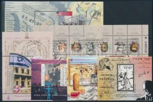 1995-1997 5 klf blokk + 1 kisív elsőnapi alkalmi bélyegzéssel