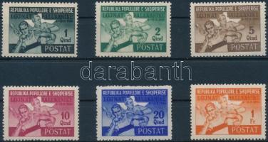 1946 Balkán játékok sor Mi 408-413 (záróérték nélkül / without closing value)