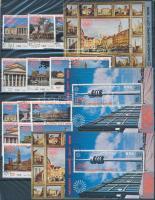 Jemeni Arab Köztársaság Müncheni Olimpia 72 teljes kiadás 6 féle garnitúra 3 példányban 5 db A4-es berakólapon (Mi EUR ~290,-)