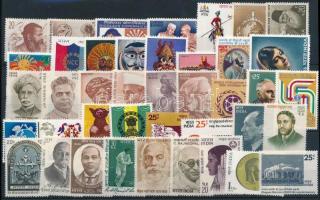 2 klf sor + 32 klf önálló érték 2 sets + 32 stamps