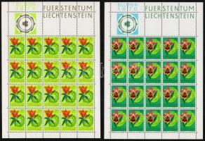 Indigenous plants mini sheet set, Őshonos növények kisív sor