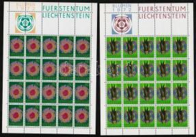 1972 Endemikus növényfajok kisív sor Mi 560-563