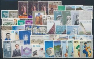 15 sets + 3 stamps, 15 klf sor + 3 klf önálló érték