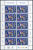 Entry into the European Union minisheet, Belépés az Európai Unióba kisív