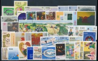 1991-1994 8 klf sor + 10 klf önálló érték + 1 pár + 1 négyestömb 1991-1994 8 sets + 10 stamps + 1 pair + 1 block of 4