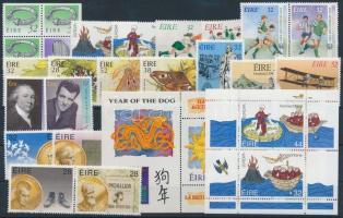 1991-1994 6 klf sor + 3 klf önálló érték + 2 klf bélyefüzetlap + 1 blokk 1991-1994 6 sets + 3 stamps + 2 stamp-booklet sheets + 1 block