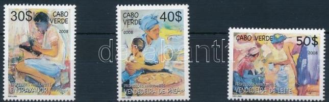 2008 Vándorkereskedelem sor záróérték nélkül Mi 930-932