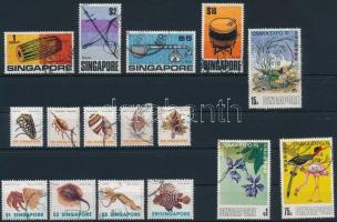 1969-1977 16 db motívum bélyeg 1969-1977 16 stamps