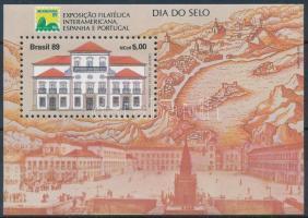 Bélyegnap blokk Stamp Day block