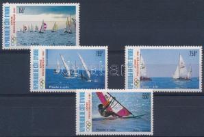 Vitorláshajó sor Sailing boat set