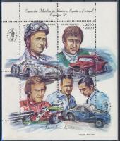 Spanyol-amerikai bélyegkiállítás blokk Spanish-American stamp exhibition block