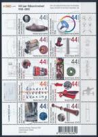 Netherlands inventions minisheet, Holland találmányok kisív
