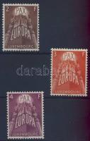 1957 Europa CEPT Mi 572-574