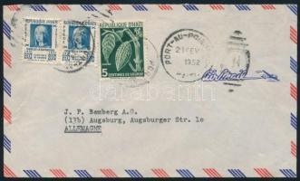 Air mail cover to Germany Légi levél Németországba