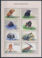 Nagytestű vadállatok kisív Wild Animals minisheet