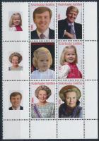 Queen Beatrix corner block of 6 Beatrix királyné ívsarki hatosblokk