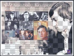 Karpov sakk VB 3 kisív Karpov Chess World Cup 3 mini sheets
