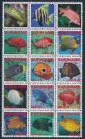 2009 Hal 15-ös tömb Mi 2291-2302