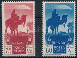 2 airmail stamps, 2 klf légiposta bélyeg