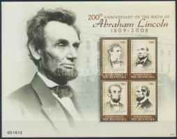 Lincoln mini sheet Lincoln kisív
