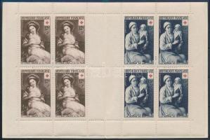 1953 Vöröskereszt bélyegfüzet Mi 984-985