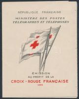 1955 Vöröskereszt bélyegfüzet Mi 1077
