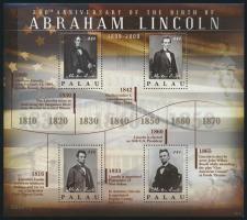 Lincoln mini sheet Lincoln kisív