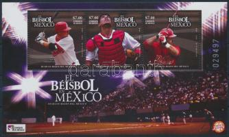 Baseball; sport blokk Baseball; sport block