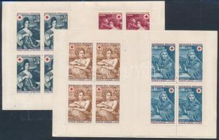 1968-1969 Red Cross stamp-booklets, 1968-1969 Vöröskereszt bélyegfüzetek