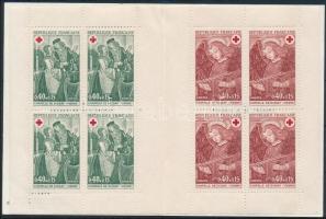 Red Cross stamp-booklet (II), Vöröskereszt bélyegfüzet (II)
