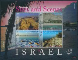 Bélyegkiállítás kisív Stamp Exhibition mini sheet