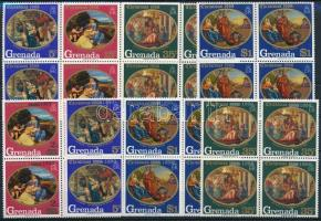 1968-1969 Karácsony 2 klf sor 1968-1969 Christmas 2 sets