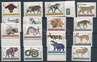 Animals set without 10c (missing: Mi 10Ax), Állat sor 10c nélkül (hiányzik: Mi 10Ax)