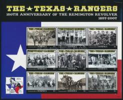 Texas Ranger kisív Texas Ranger mini sheet