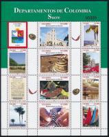 2007 Kolumbia fővárosa teljes ív Mi 2451-2462