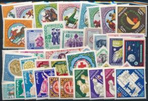 1959-1963 4 klf sor + 20 klf önálló érték 1959-1963 4 sets + 20 stamps