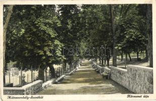 Mátraverebély-Szentkút, Körmenet útja