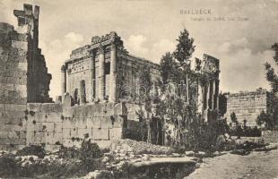 Baalbek, Baalbeck; Temple du Soleil, Sud Ouest