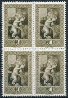 Sandro Botticelli: Madonna és a gyermek 4-es tömb Sandro Botticelli: Madonna and Child block of 4