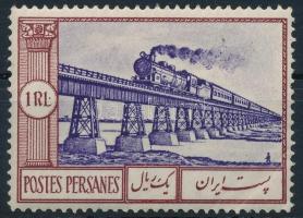 Vonat (ránc vagy nyomás a jobb alsó saroknál) Train (corner right below creased)