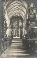 Levoca, Vnútro Gymn Kostola / church interior, Kopasz photo, Lőcse, templom belső