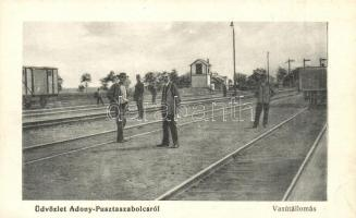 Adony-Pusztaszabolcs, Vasútállomás