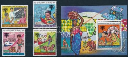 Nemzetközi Gyermek év sor + blokk International Children's Year set + block
