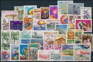 1986-1991 39 klf bélyeg 1986-1991 39 stamps