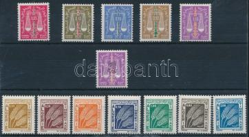 1963-1972 Portó sorok 1963-1972 Postage due sets