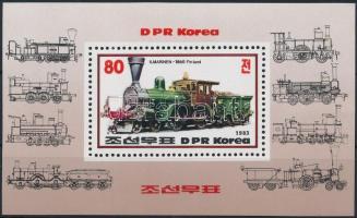 Vasút ívszéli sor + blokk Railway margin set + block