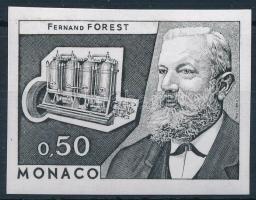 Fernand Forest vágott színpróba Fernand Forest imperf colour proof