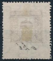 1913 Értékpapír forgalmi adó 1K gépszínátnyomattal
